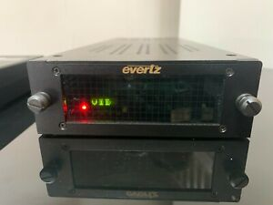 Evertz 7721AE-A4-HD - HD/SD-SDI Analog Audio Embedder