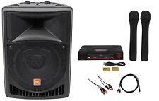 "Rockville Powered 8"" Pro Karaoke Machine/System 4 ipad/iphone/Android/Laptop/TV"