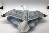1985 Ski Country SEAGULL Large Full Size Wall Plaque Decanter with Box