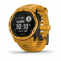 Garmin Instinct Rugged Outdoor GPS Fitness Watch - Sunburst 010-02064-03