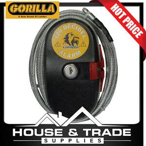 Gorilla Cable Lock Alarm 120dB 4.6m Ultra Hard Steel Cable GLA-LA6797