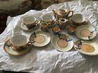 Vintage Pieces of Children's Lusterware Tea Sets Japan