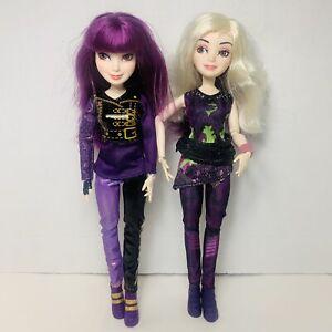 "Hasbro DISNEY Descendants 2 MAL 11"" inch Doll Lot  - Lost Isle & Switch Style"