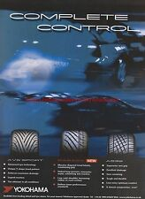 Yokohama Tyre Car 2004 Magazine Advert #7755