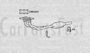 EXHAUST TWIN FRONT PIPE & CAT Audi A3 1.8 Petrol Hatchback 09/1996 to 02/2001