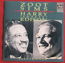 ZOOT SIMS HARRY SWEET EDISON   CD JUST FRIENDS