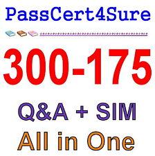 Cisco Best Exam Practice Material For 300-175 Exam Q&A+SIM