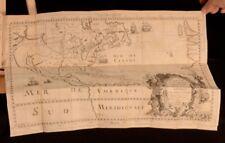 1698 Nouveau Voyage d'un Pais plus Grand que L'Europe Louis Hennepin First
