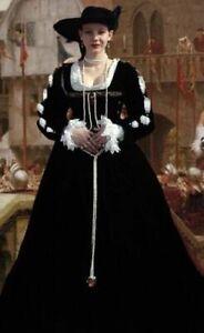 Custom Made 4 piece Velvet Renaissance Dress - In Many Colors