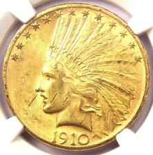 New listing 1910-S Indian Gold Eagle $10 - Ngc Uncirculated Details (Unc Ms) - Nice Luster!