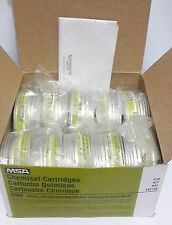 MSA GME 492790 Chemical Multigas Cartridges 10pcs NIOSH Approved *Free shipping*