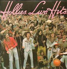 The Hollies(Vinyl LP)Live Hits-Polydor-2383 428-UK-1976-VG/Ex