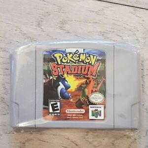 Pokemon Stadium For Nintendo N64 Video Game -USA VERSION