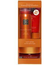 Rituals Happy Buddha  Bath & Body Gift Set Shower Gel Body Cream Scrub