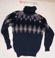 Island Norweger Damen Rollkragen STRICK Pullover  Ca Grösse 42 30% Wolle