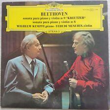Beethoven - Kreutzer-Sonate, KEMPFF, MENUHIN, DGG STEREO