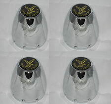 4 CAP DEAL VW WIDE 5 SPIRIT OF AMERICA CHROME WHEEL RIM CENTER CAPS SNAP IN 072