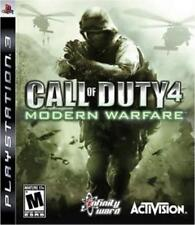 PlayStation 3 Call of Duty 4: Modern Warfare VideoGames