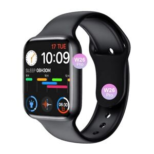 Smart Watch W26Pro Black Series 6 2021 Apple Android Fitness ECG Heart Rate Gym