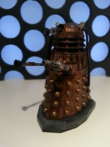 """Doctor Who 3.75"""" Into The Dalek Rusty Gold Electronic Motion New Series Figure"""