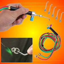 Micro Mini Gas Little Torch Welding Soldering Kit&5 Tips For Jewelry Jewelers AP
