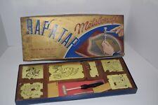 Vintage 1950's Metalcraft Rap-A-Tap Metal Crafting Set