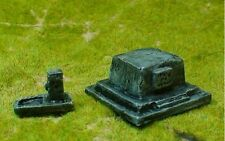 EWM Extra8 1/76 Diecast WWII War Memorial Plinth + Water Fountain-Paint to Suit