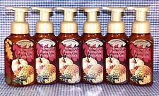 6 Bath & Body Works HONEYED PINEAPPLE PUMPKIN Gentle Foaming Hand Soap Creamy