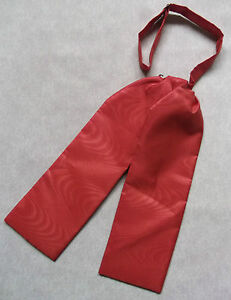 Wedding Cravat BOYS Adjustable Ascot Tie AGE 4 - 12 SHIMMERY DARK ORANGE