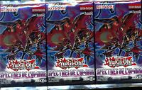 YU GI OH! 3 BOOSTERS SPECTRES DE L'OMBRE