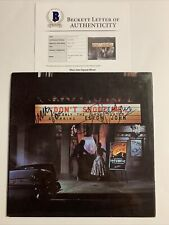Elton John Signed Vinyl Beckett COA Dont Shoot Me Im Only The Piano Player BAS