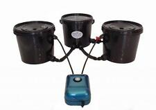 Oxy Pot DEEP WATER CULTURE 2 POT System BUBBLE TUBZ HYDROPONICs  DWC 16L RDWC