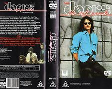THE DOORS - THE SOFT PARADE - A RETROSPECTIVE - VHS - NEW - PAL - VERY RARE!!!