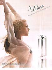 PUBLICITE ADVERTISING  2011   SWAROVSKI  joaillier parfumeur  AURA