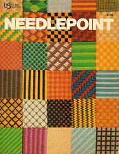 1978 Needlepoint Learning Projects by Dixie Dean Trainer 96 Pages SoftCover Book