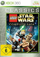 LEGO Star Wars: Die komplette Saga -- Classics (Microsoft Xbox 360, 2011) *gut*