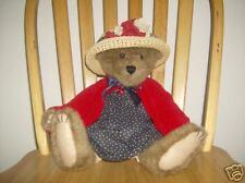 "Boyds 16"" Plush Bear Eleanore Bearsevelt Americana"