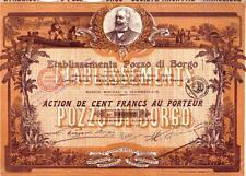 Africa Benin France Colonial 1913 Bond Etabliddements Pozzo de Borgo Tor Deco