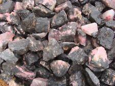 RHODONITE Rough Rock Cabbing Rock Tumbler / Polisher - ONE POUND LOTS - CHAKRA