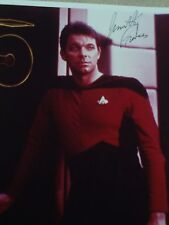 Star Trek..Jonathan Frakes signed 8x10 photo