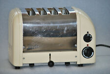 Dualit toaster, 4 Slice, Cream