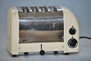 Dualit toaster, 4 Slice, Cream