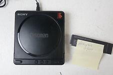Sony D-40 Discman tragbarer CD Player Compact Disc Vintage  Akku und Netzteil