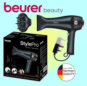 Beurer Beauty 2000W StylePro Hair Dryer & Diffuser  - EU and UK Plugs - HC-55