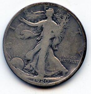 Walking Liberty half 1920-d (SEE PROMO)