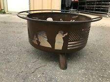 New listing Custom PatinaProductsTrump Maga Fire Pit New in Box