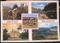 Scotland Old Mill Clunie Burn Braemar River Dee - posted 1994