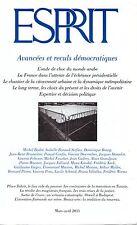 ESPRIT AVANCEES ET RECULS DEMOCRATIQUES MARS AVRIL 2011 + PARIS POSTER GUIDE