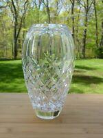 """Vintage Waterford Cut Crystal Araglin Flower Vase 9"""""""
