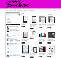 Fully Stocked Ebook Reader WEBSITE- NEW DOMAIN - ONE YEARS HOSTING